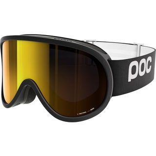 POC Retina, black/Lens: pink gold mirror - Skibrille