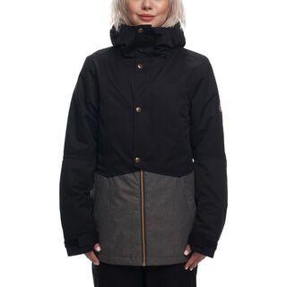 686 Women's Rumor Insulated Jacket, grey melange - Snowboardjacke