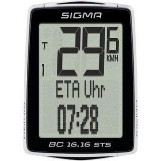 Sigma BC 16.16 STS, schwarz - Fahrradcomputer
