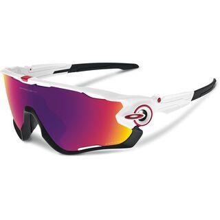 Oakley Jawbreaker Prizm Road, polished white - Sportbrille