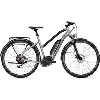 Ghost Hybride Square Trekking B2.8 W AL 2019, silver/black - E-Bike