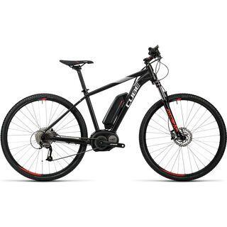Cube Cross Hybrid Pro 400 2016, black´n´red - E-Bike
