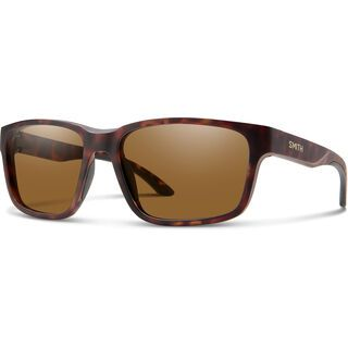 Smith Basecamp, mat tortoise/Lens: cp polarized brown - Sonnenbrille