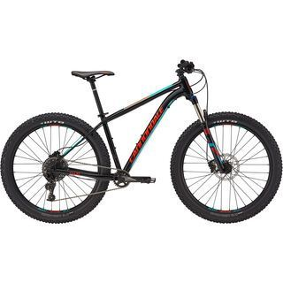 Cannondale Cujo 1 2017, black/turquoise/red - Mountainbike