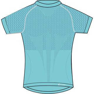 Cube WLS Funktionsshirt Pro kurzarm Be Cool, blue´n´white