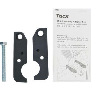 Tacx Verlängerungsset Cycletrack Trainer T-1411 - Zubehör