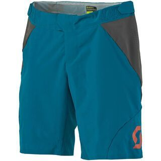 Scott Womens AMT ls/fit Shorts, medium blue/dark grey - Radhose