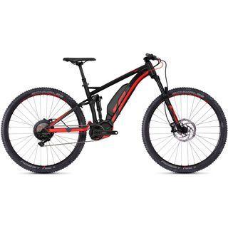 Ghost Hybride Kato FS S4.9 AL 2018, black/neon red - E-Bike