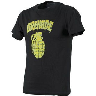 ROUGH GmbH Grenade Ooze, Black - T-Shirt