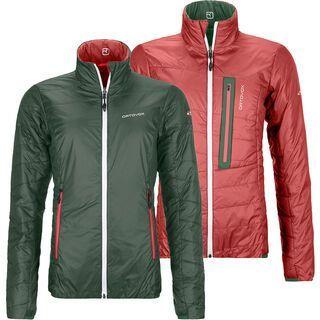 Ortovox Swisswool Light Piz Bial Jacket W, green forest - Thermojacke