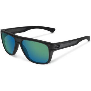Oakley Breadbox, matte black ink/Lens: jade iridium - Sonnenbrille