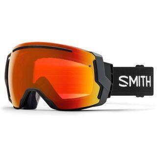 Smith I/O 7 inkl. Wechselscheibe, black/Lens: everyday red mirror chromapop - Skibrille