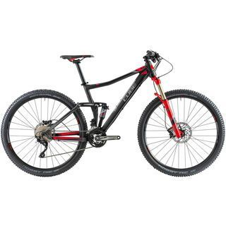 Cube Sting 120 29 2014, black/red - Mountainbike