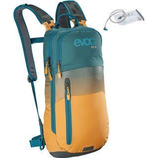 Evoc CC 6l + Hydration Bladder 2l petrol/loam