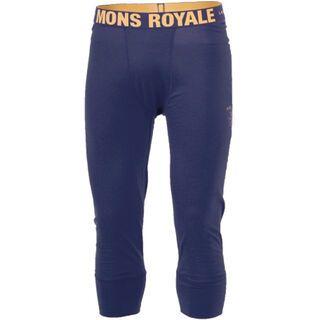 Mons Royale 3/4 Long John, navy - Unterhose