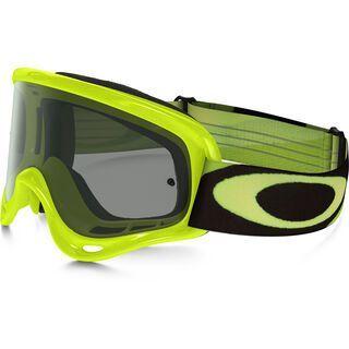 Oakley O Frame MX, heritage racer green/yellow/Lens: dark grey - MX Brille