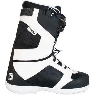 Nitro Nomad TLS, Black-White - Snowboardschuhe