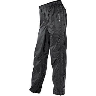 Vaude Men's Fluid Full-zip Pants II, black - Radhose