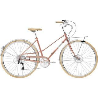 Creme Cycles Caferacer Lady Solo Disc 2018, old gold - Cityrad