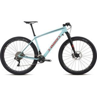 Specialized S-Works Epic HT Carbon Di2 29 2017, teal/red/black - Mountainbike