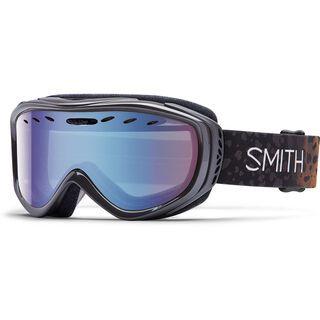 Smith Cadence + Spare Lens, uncaged/blue sensor mirror - Skibrille