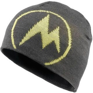 Marmot Summit Hat, Slate Grey/Acid Yellow - Mütze