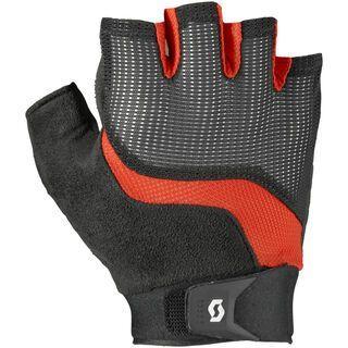 Scott Essential SF Glove, black/fiery red - Fahrradhandschuhe