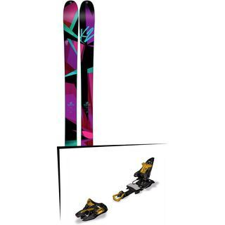 K2 SKI Set: Remedy 92 2016 + Marker Kingpin 13