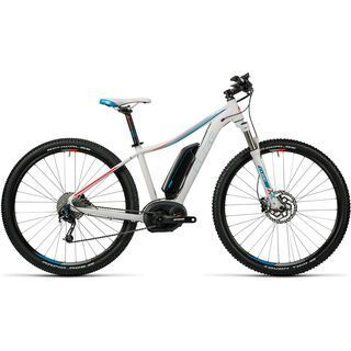 Cube Access WLS Hybrid Pro 400 29 2016, white´n´blue´n´flashred - E-Bike