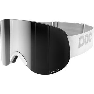 POC Lid, hydrogen white/Lens: bronze silver mirror - Skibrille