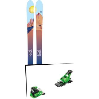 Set: Icelantic Oracle 88 2018 + Tyrolia Attack² 13 GW green