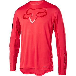 Fox Flexair Delta LS Jersey Limited Edition, bright red - Radtrikot