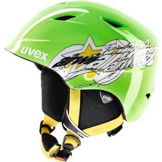 uvex airwing 2, green star - Skihelm