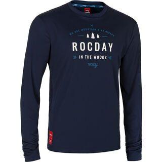 Rocday Patrol Jersey, dark blue - Radtrikot