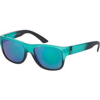 Scott Lyric, green matt/black green chrome - Sonnenbrille