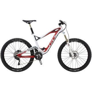 GT Force Carbon Expert 2014, raw/white/red - Mountainbike