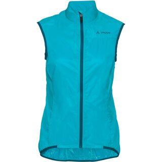 Vaude Women's Air Vest III, cyan - Radweste