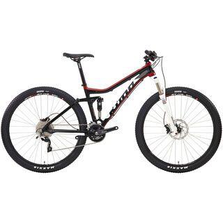 Kona Hei Hei Hei 2014, matt black/white/red/black - Mountainbike