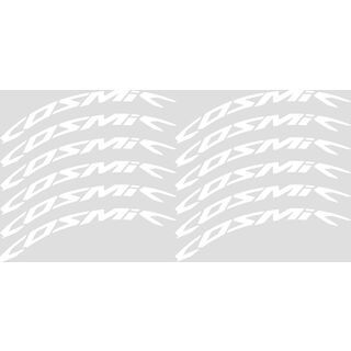 Mavic Cosmic Wheel Stickers, white - Aufkleber