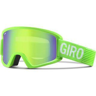 Giro Semi + Spare Lens, bright green monotone/loden green - Skibrille