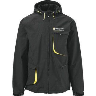 Scott Jacket Factory Team, black/yellow - Radjacke