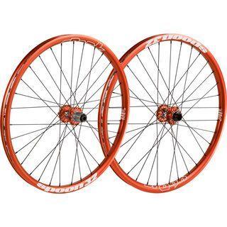 Spank Spoon 32 Wheelset 26, orange - Laufradsatz