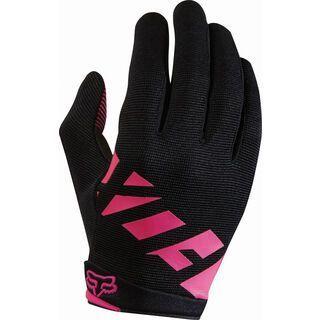 Fox Womens Ripley Glove, black/pink - Fahrradhandschuhe