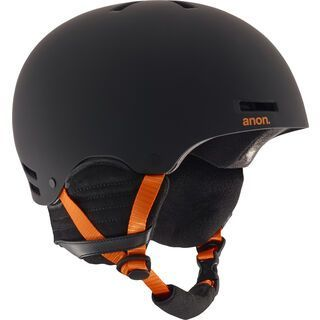 Anon Raider, black/orange - Snowboardhelm