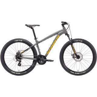 Kona Lana'I 27.5 2019, silver w/ yellow & black - Mountainbike