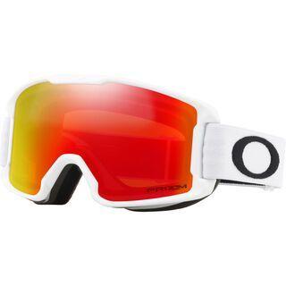 Oakley Line Miner Youth Prizm, matte white/Lens: torch iridium - Skibrille