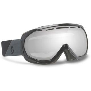 Scott Notice OTG + Strap-Verlängerung, black/silver chrome - Skibrille