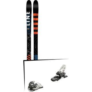 Set: Line Wallisch 2017 + Tyrolia Attack 11 100 mm, solid black white - Skiset