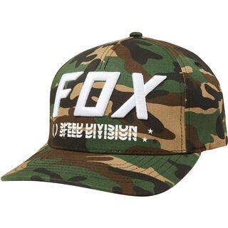 Fox Triple Threat Flexfit Hat, green camo - Cap