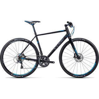 Cube SL Road SL 2015, Road black anthrazit blue - Fitnessbike